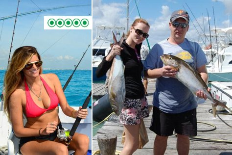 Shared Fishing in Cancun