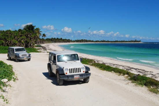 Sian Ka an from Playa del Carmen and Riviera Maya - Runners Jeep