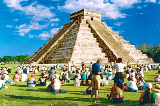 Chichen Itza Equinox (March 21, 2019)