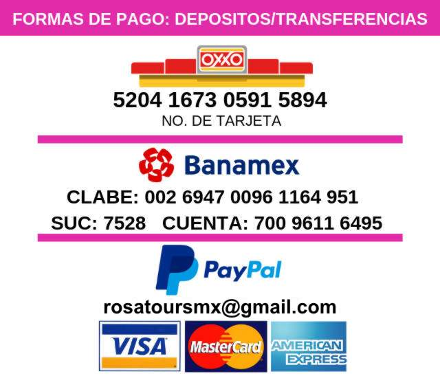Pagar Tours en Cancun